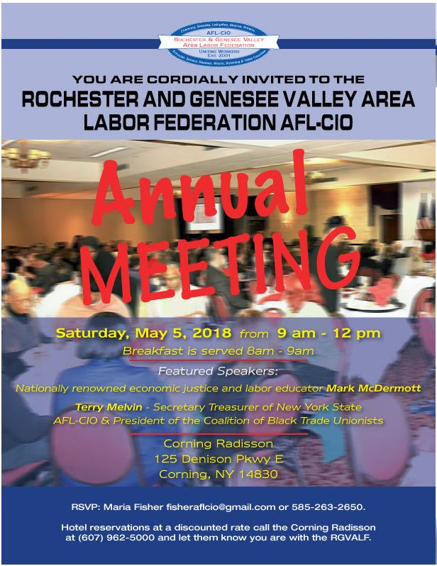 Apwu Local 215 Rochester Ny American Postal Workers Union Afl Cio